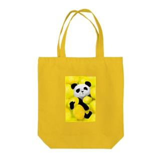 PANDA No.3 Tote bags