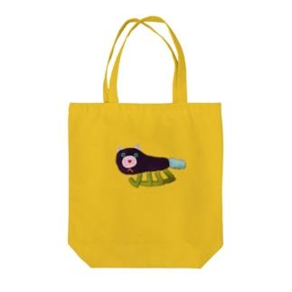 こぐまデザイン ねこちゃん Tote bags