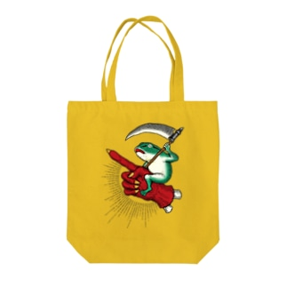 BRUTAL FROG ARMY 蛙ライダー Tote bags