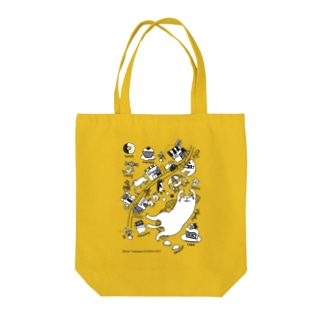 sweets town Tote bags