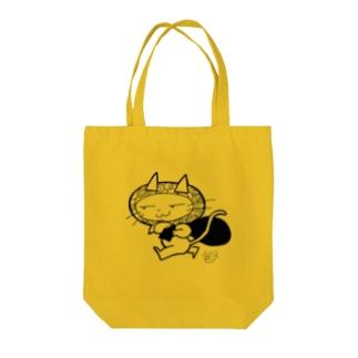 持ってけ怪盗(白黒) Tote Bag