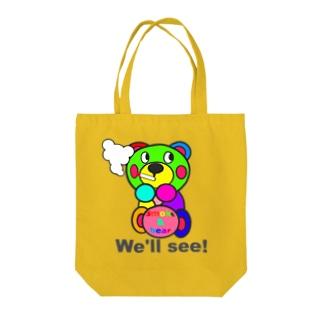 一服モクモックマ  カラフル オリジナルアイテム  Tote bags