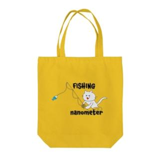 nanometerのnanometer『FISHING』トートバッグ(ノーマル) Tote Bag