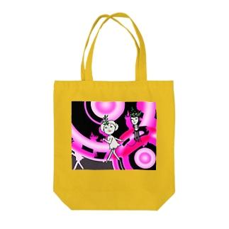 タコアゲの少女 Tote bags