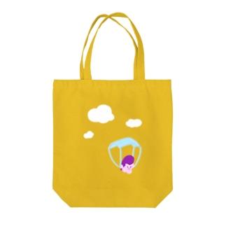 ぽよちゃん 「降下!」 Tote Bag