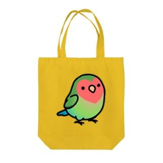 Chubby Bird コザクラインコ Tote bags