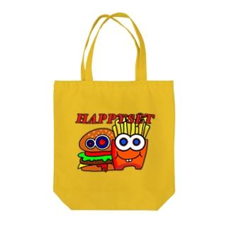 ハッピーセット Tote bags