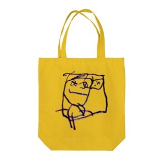 たんこぶ男 Tote bags