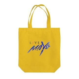 LIVE MAYA Tote bags