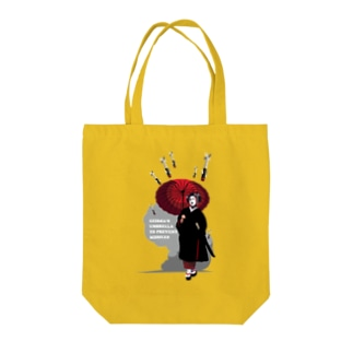 対空防御芸者 Tote bags