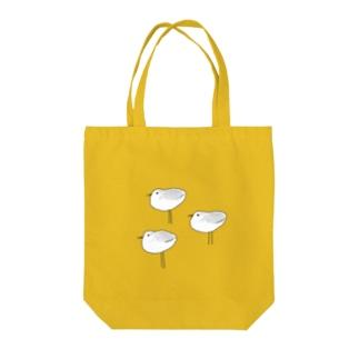 ミユビシギ Tote bags