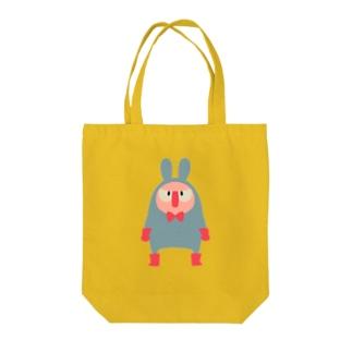 ほっかむり先輩 Tote bags