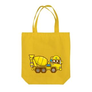 ゲンマイくんのミキサー車 Tote bags
