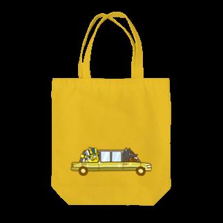コメビツくんのコガネモチくんのリムジン Tote bags