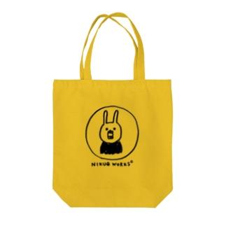 にがおえのウー[黒い字] Tote bags
