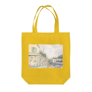 ユトリロの幻影:Mirage of Utrillo Tote bags