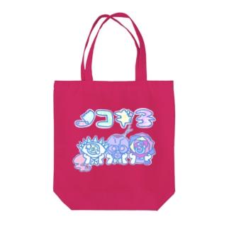 ノコギ子ちゃん Tote bags