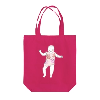 baby021 color Tote bags