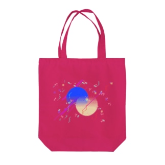 Pixel Color Composition Ⅰ(NoBack) Tote bags