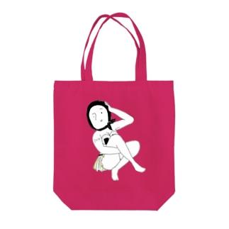 サマーガール2018 Tote bags