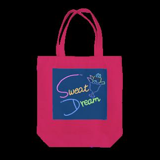 sakura-soraのSWEAT DREAM Tote bags