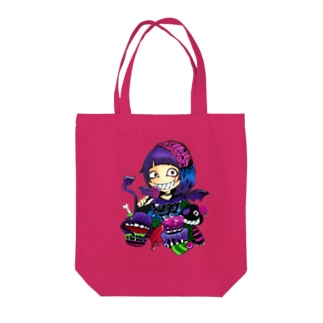 hungry  girl Tote bags