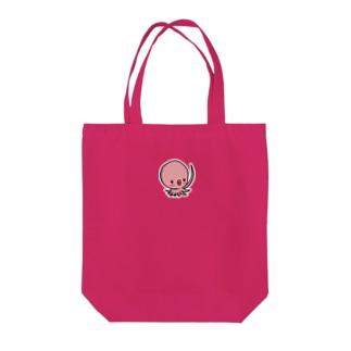 タコちゃん Tote bags