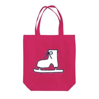 スケート靴 Tote bags