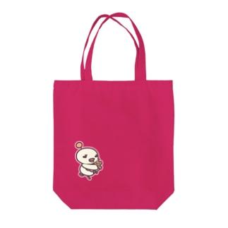 ヒヨトリ「ぎゅ」 Tote bags