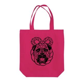 土佐犬 Tote bags