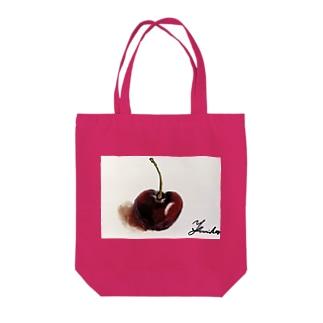 さくらんぼ(との出逢い) Tote bags