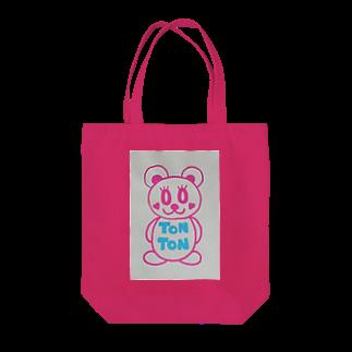 トントンのトントンちゃん Tote bags