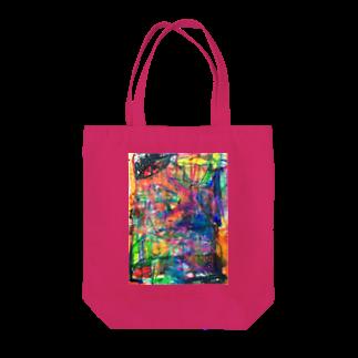 tomo4のカラフル Tote bags