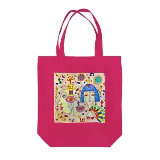 クレオパトラ Tote bags