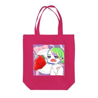 おっきいいちご🍓 Tote bags
