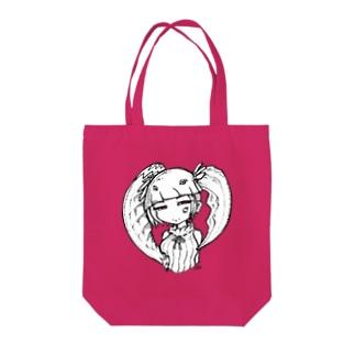 キャンサーガール Tote bags