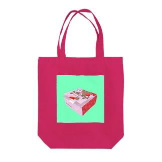 かわいい君は アレをこんなかわいい箱に入れちゃうのです Tote bags