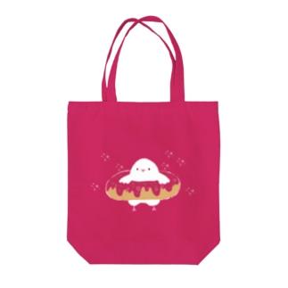 ドーナツハト Tote bags