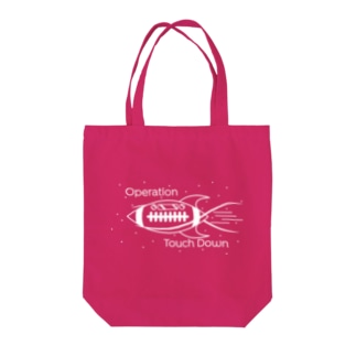 operation touchdown W Tote bags