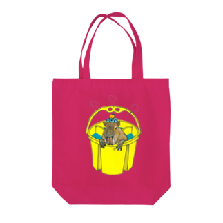 Leee_sanのカピバラ Tote bags