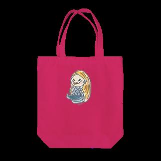 さっちょこのあまびえちゃん(おすわり) Tote bags