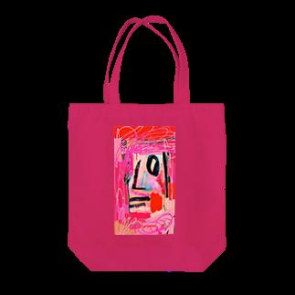 FRESH⭐︎DRAWING 2020のさくら色のportrait Tote bags