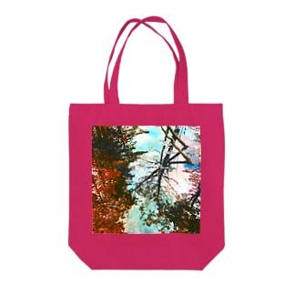 森の水鏡 ノーマルカラー Tote bags