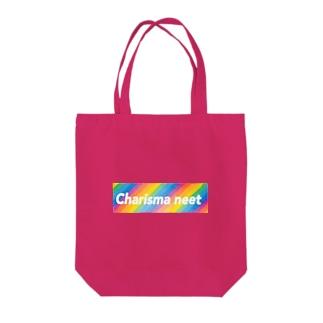 Charisma neet レインボーボックス Tote bags
