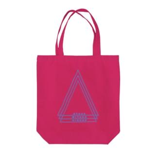 多摩川ブルーカラー Tote bags