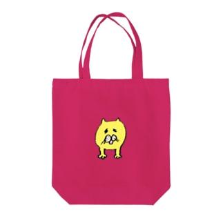 にゃん太くん Tote bags