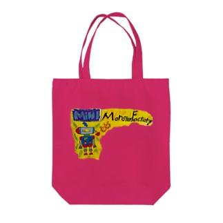 モンスター工場🏭 ミニ Tote bags