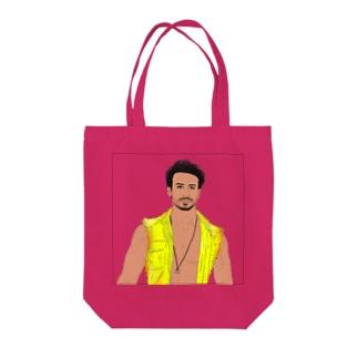 かわいいこうはい Tote bags