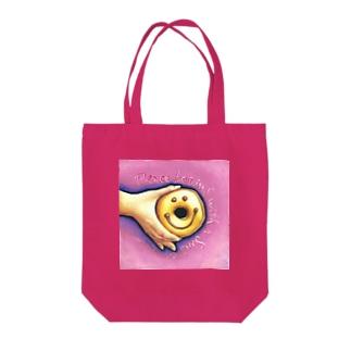 ドーナツスマイル Tote bags