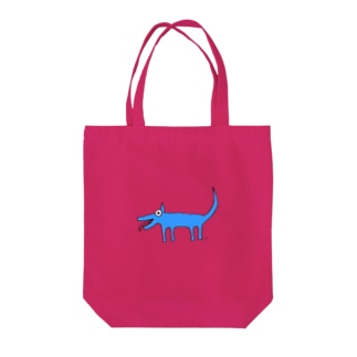 Inuuu - mysterious dog Tote bags